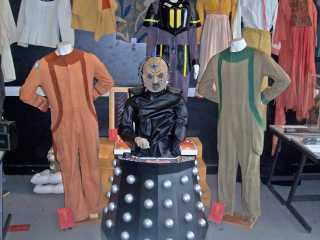An authentic Davros costume