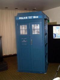 Spot the TARDIS . . .